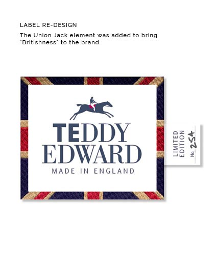 TEDDY EDWARD LABEL REDESIGN